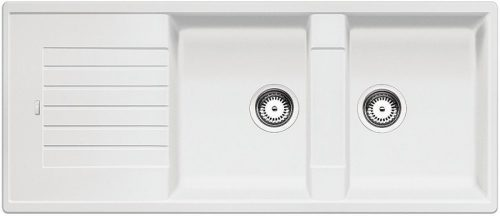 BLANCO ZIA 8 S Gránit mosogató fehér