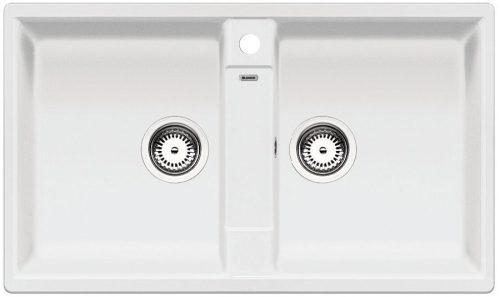 BLANCO ZIA 9 Gránit mosogató fehér