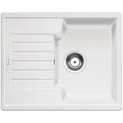 BLANCO ZIA 40 S Gránit mosogató fehér
