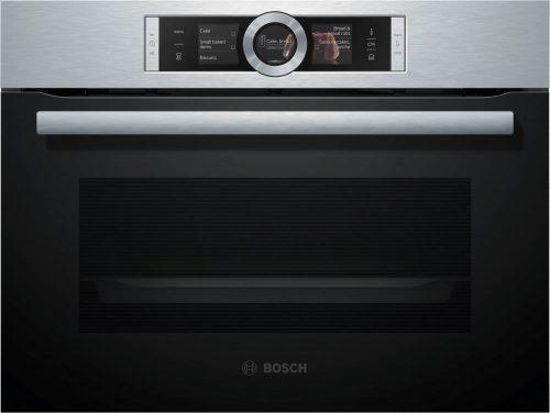Bosch CSG656BS2 beépíthető kompakt gőzsütő