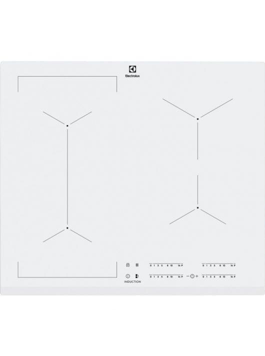 Electrolux EIV63440BW Beépíthető indukciós főzőlap|Bridge funkció|60 cm