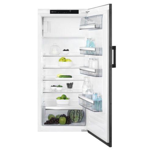 Electrolux EK242SRSW Beépíthető hűtőszekrény fekete  OptiSpace  126 cm