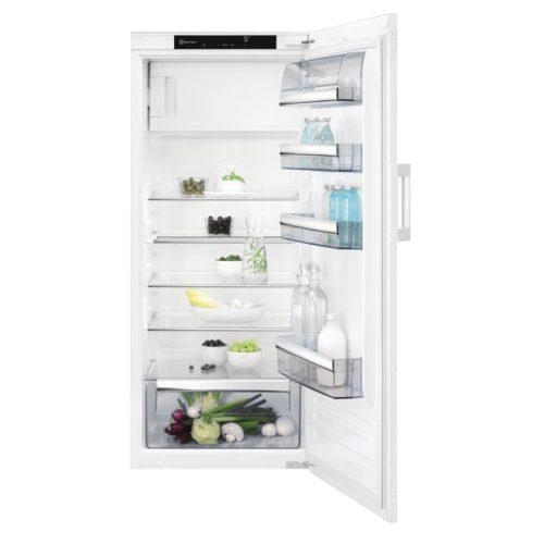 Electrolux EK244SRWE Beépíthető hűtőszekrény| OptiSpace | 126 cm