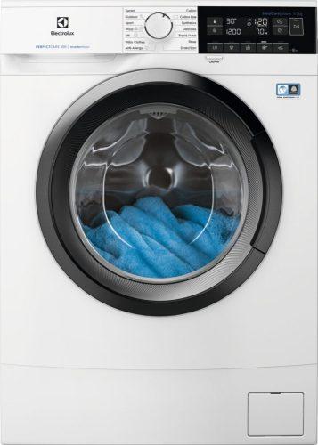 Electrolux EW6S327SI Keskeny elöltöltős mosógép|7 kg|1200f/p|inverter|LED
