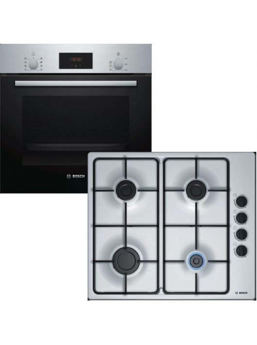 Bosch sütő és főzőlap szett HBF153ES0 + PBP6B5B80H