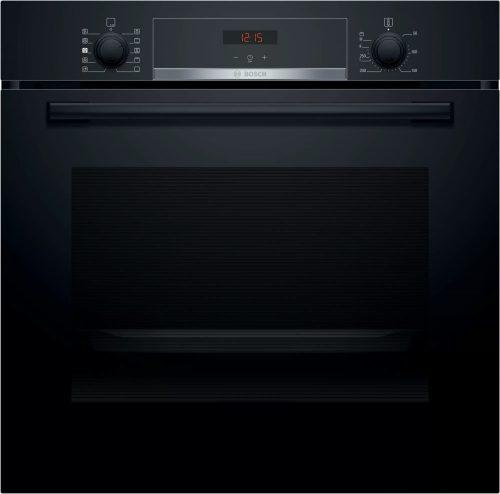 Bosch HRA534EB0 Serie   4 Beépíthető sütő gőz funkcióval 60 x 60 cm Fekete