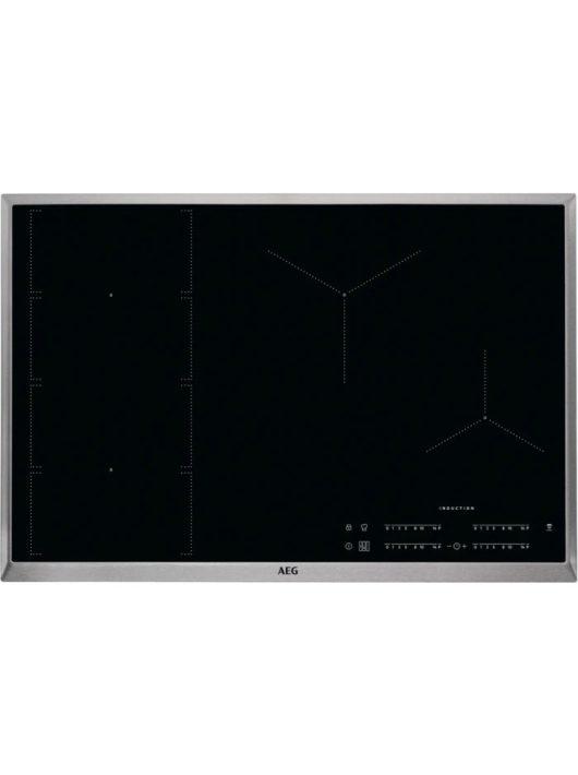 AEG IKE84471XB Beépíthető indukciós főzőlap H2H 80 cm