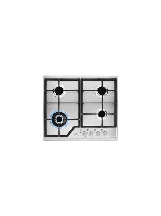 Electrolux KGS6436SX Beépíthető gáz főzőlap 60 cm WOK égőfej