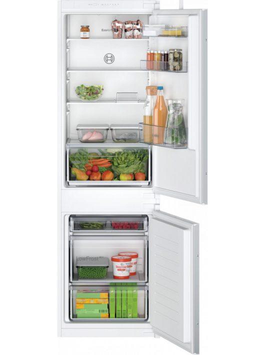 Bosch KIV865SF0 Serie   2 Beépíthető, alulfagyasztós hűtő-fagyasztó kombináció