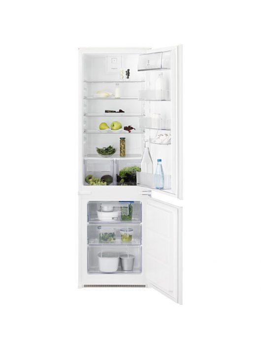 Electrolux LNT3FF18S Beépíthető kombinált hűtőszekrény|LowFrost|178 cm