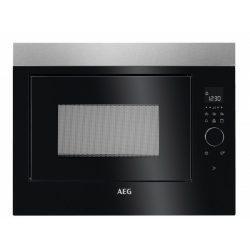 AEG MBE2658DEM Beépíthető mikrohullámú sütő, érintőkijelző, kedvencek funkció, grill funkció