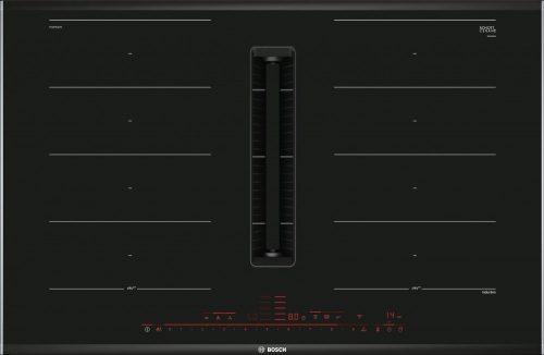 Bosch PXX875D67E Serie 8 Indukciós főzőlap, beépített elszívóval 80 cm