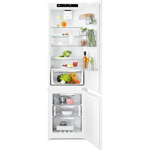 AEG SCE819E5TS CustomFlex beépíthető kombinált hűtőszekrény|NoFrost|188 cm