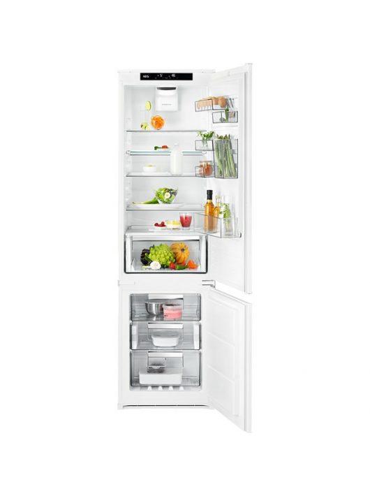 AEG SCE819E5TS CustomFlex beépíthető kombinált hűtőszekrény|NoFrost|188 cm|A++