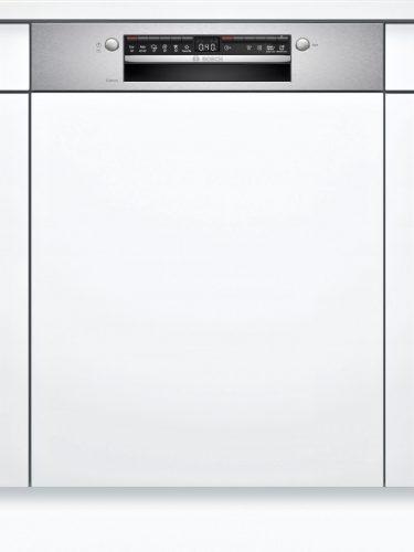 Bosch SGI4HTS31E Serie | 4 Félig beépíthető mosogatógép 60 cm Nemesacél