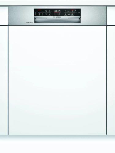 Bosch SMI6ECS57E Serie | 6 Félig beépíthető mosogatógép 60 cm Nemesacél