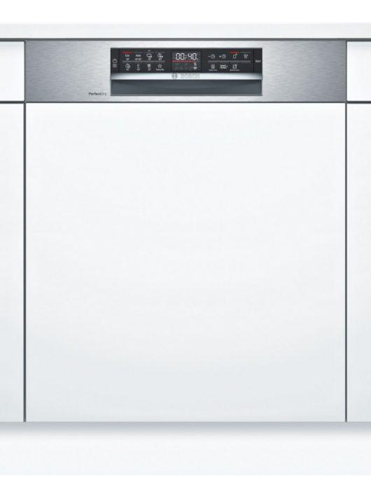 Bosch SMI6ZDS49E Serie | 6 Félig beépíthető mosogatógép 60 cm Nemesacél