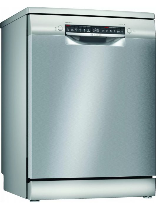 Bosch SMS4EVI14E Serie   4 Szabadonálló mosogatógép, 60 cm, silver-inox