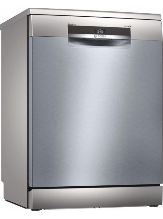 Bosch SMS6EDI06E Serie   6 Szabadonálló mosogatógép, 60 cm, silver-inox
