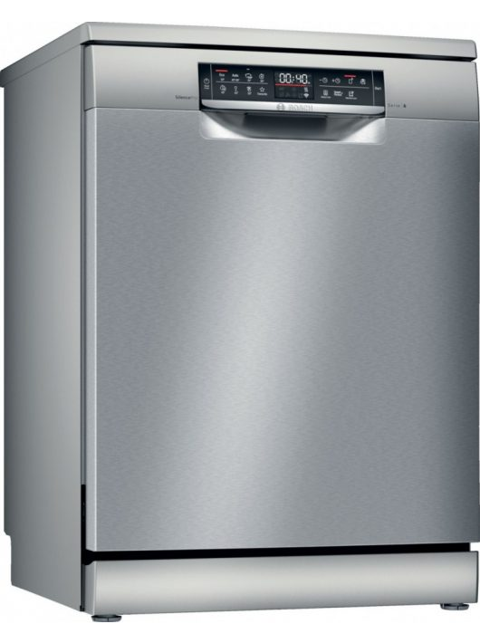 Bosch SMS6EDI63E Serie | 6, Szabadonálló mosogatógép, 60 cm, silver-inox