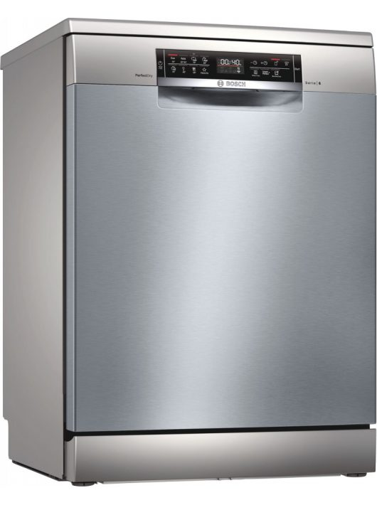 Bosch SMS6ZDI48E Serie   6, Szabadonálló mosogatógép, 60 cm, silver-inox