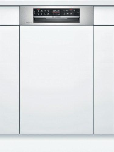Bosch SPI6EMS23E Serie | 6 Félig beépíthető mosogatógép 45 cm Nemesacél