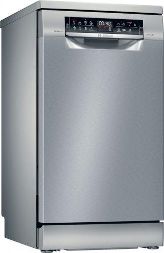 Bosch SPS6ZMI35E Serie | 6, Szabadonálló mosogatógép, 45 cm, silver-inox