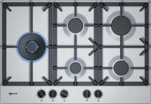 Neff T27DS79N0 beépíthető gázfőzőlap